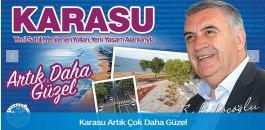 Karasu Sahil Projesi 1 Ağustos Cumartesi günü Açılıyor.
