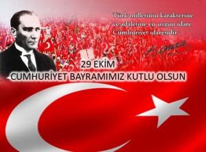 29 Ekim Cumhuriyet Bayramı'mız Kutlu Olsun…